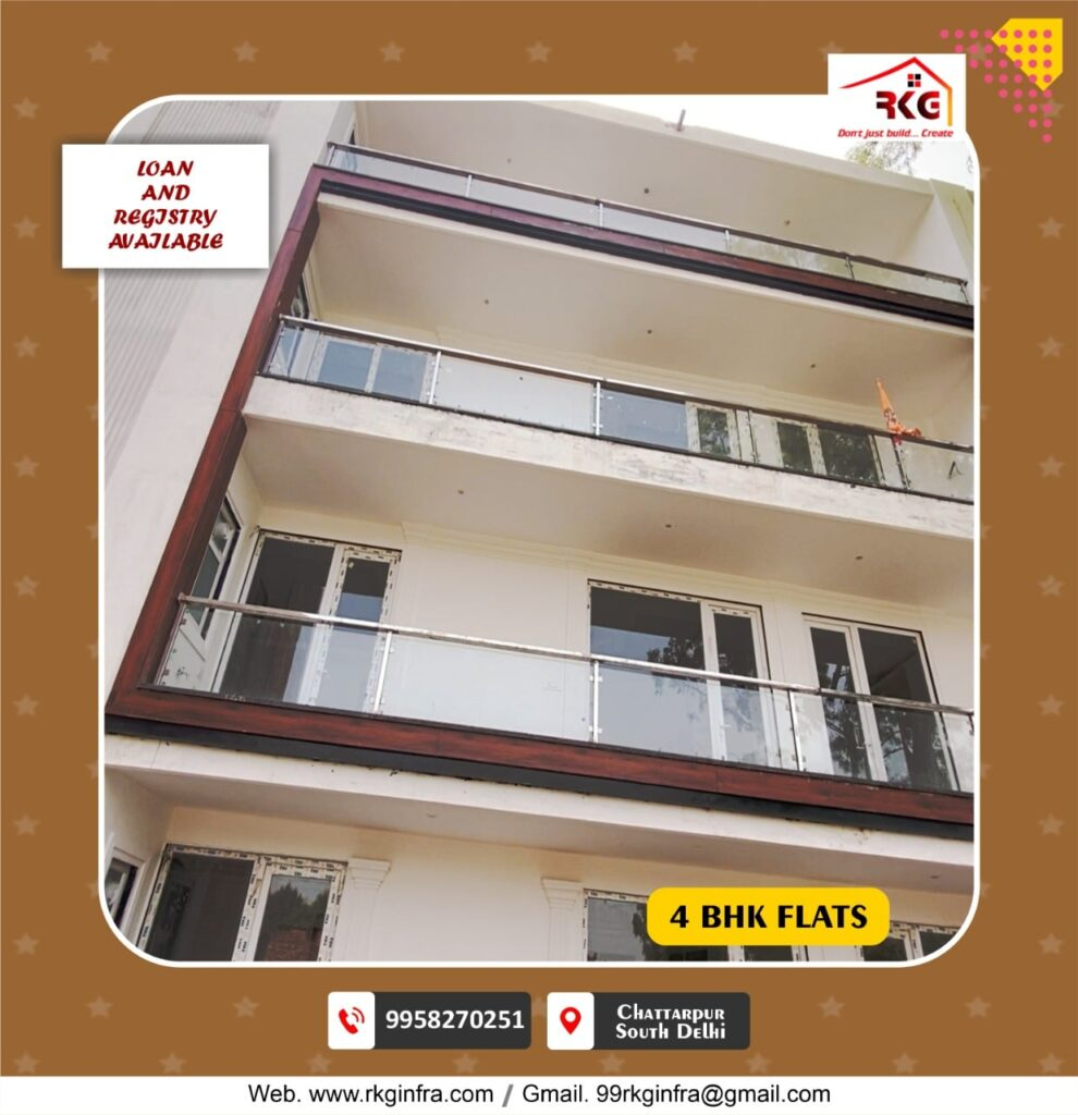 Affordable Flats In Chattarpur Image