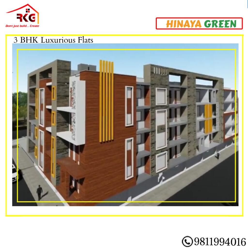 3 bhk flats in chattarpur delhi Image