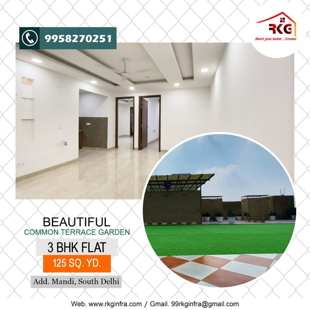 New Flats In Mandi Chattarpur Image