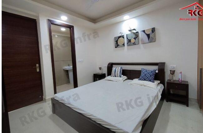 2 & 3 BHK flats in mandi Chhatarpur: bedroom